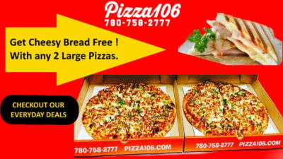 ​Pizza offers in Edmonton